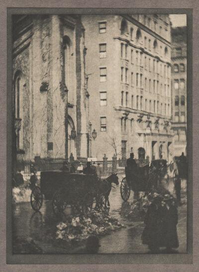 Alvin Langdon Coburn, 'The Holland House', Neg. date: 1909 c. / Print date:1909