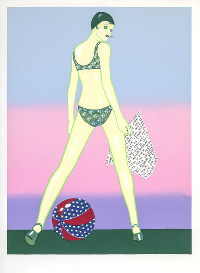 Kiki Kogelnik, 'Beach Ball', 1978