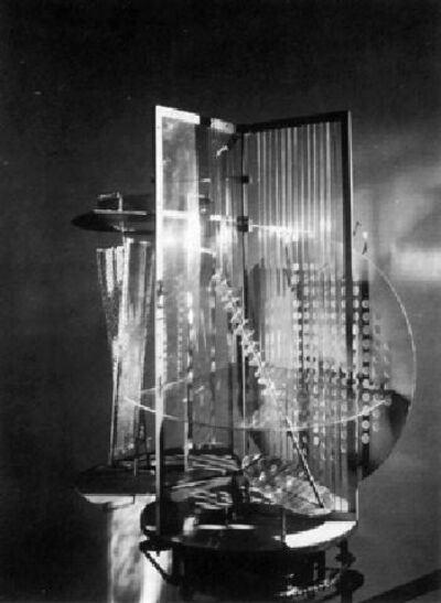 László Moholy-Nagy, 'Das Lichtrequisit (Light Space Modulator)', 1930