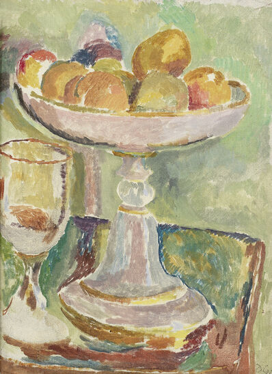 Duncan Grant, 'Still Life with Compotier and Glass', 1916, 17, c.