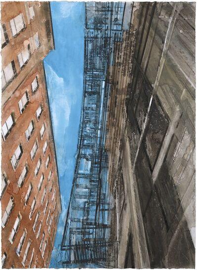 Gottfried Salzmann, 'New York escalier de secours II', 2017