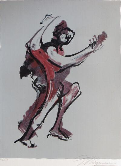 David Alfaro Siqueiros, 'Lithograph from Prison Fantasies Suite I (Fantasia de la Carcel)', 1973