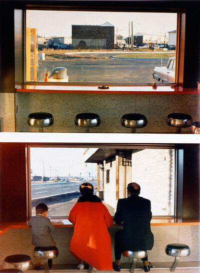 Dan Graham, 'View Interior, New Highway Restaurant, Jersey City, N.J.', 1967