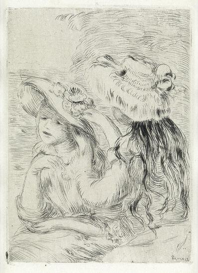 Pierre-Auguste Renoir, 'Le Chapeau Épinglé (1e planche).', circa 1894