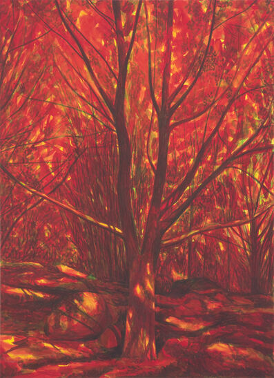 Martin Jacobson, 'Rött träd/Red tree', 2013
