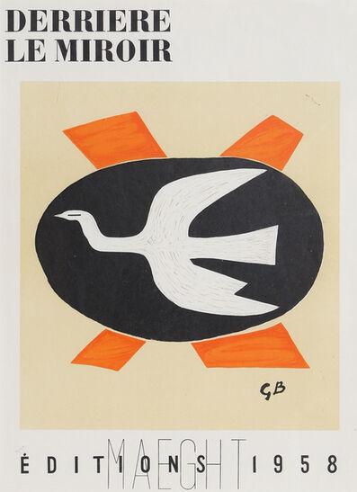 Georges Braque, 'L'Oiseau from Derrière le Miroir ', 1958