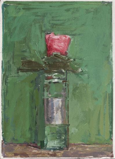 Ben Henriques, 'Pink Flower on Green', 2020