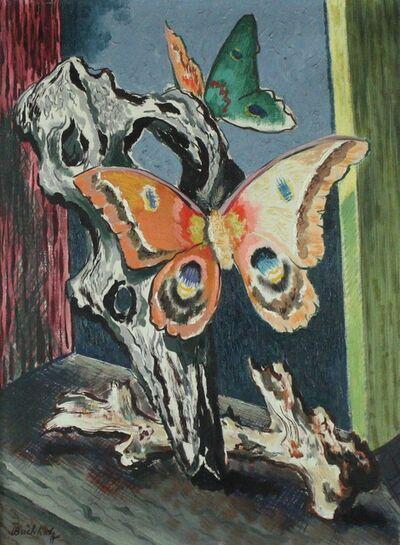 Frederick Buchholz, 'Butterfly & Driftwood', ca. 1965
