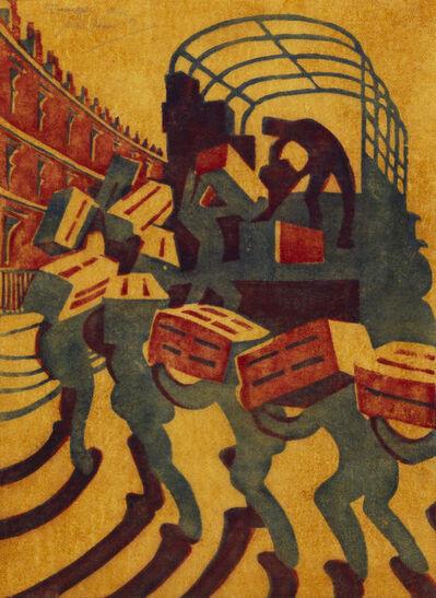 Sybil Andrews, 'Oranges', 1929