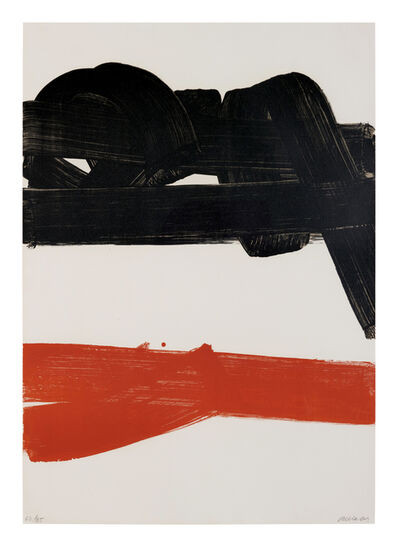 Pierre Soulages, 'Lithographie n° 27', 1969