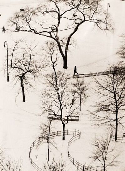 André Kertész, 'Washington Square Day', 1954