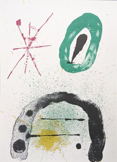 Joan Miró, 'La Fille du Jardinier No.2', 1963