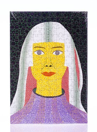 After Yayoi Kusama, 'Self Portrait', 2008