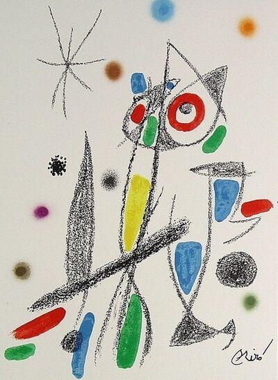 Joan Miró, 'Maravillas con variaciones acrósticas en el jardín de Miró XII', 1975