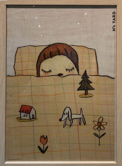 Yoshitomo Nara, 'Framed N's yard Nara Poster', 2018