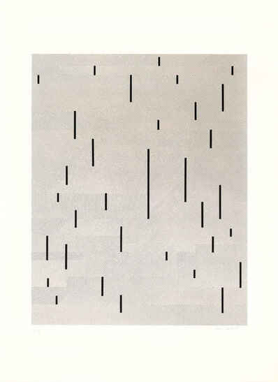 Anni Albers, 'With verticals', 1946-1983