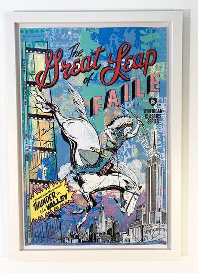 FAILE, 'The Great Leap', 2009