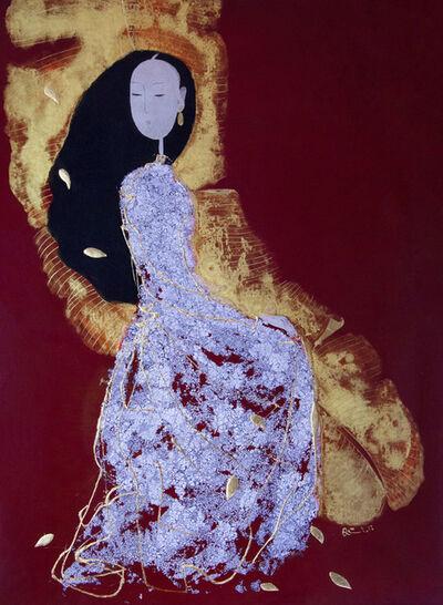 Dinh Quan, 'Lady in Banana Garden', 2019