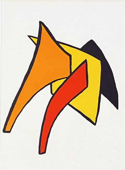 Alexander Calder, 'Stabiles V, Derriere le Miroir #141', 1963