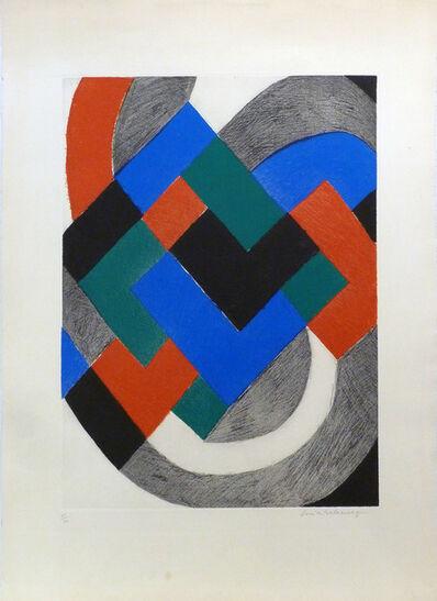 Sonia Delaunay, ' Sans titre', ca. 1970