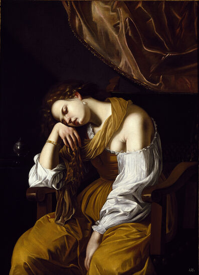 Artemisia Gentileschi, 'Mary Magdalene as Melancholy'