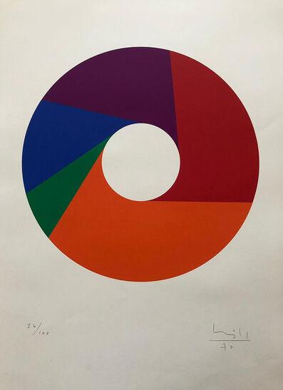 Max Bill, 'Fünfteiliger Ring', 1970