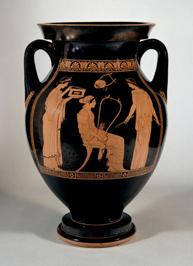 Niobid Painter, 'Red-Figure Amphora with Musical Scene', 460-450 BC