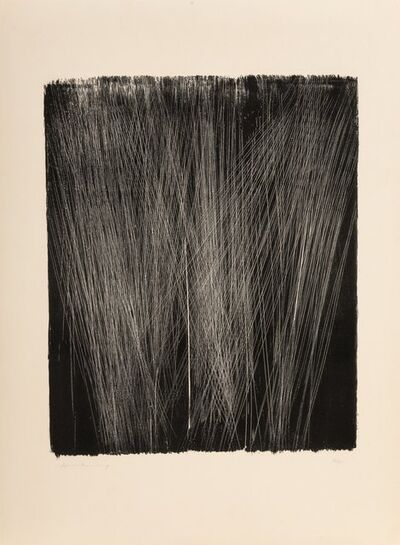 Hans Hartung, 'Untitled'