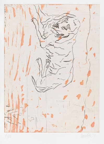 """Georg Baselitz, 'Pluto, from """"Schlafende Hunde""""', 1998-1999"""