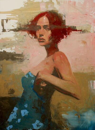 "Michael Carson, '""Blue Flowers""', 2020"