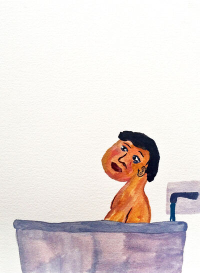 Sara Zielinski, 'Men in Bath 1', 2015