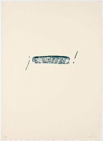 Antoni Tàpies, 'Llambrec-4', 1975