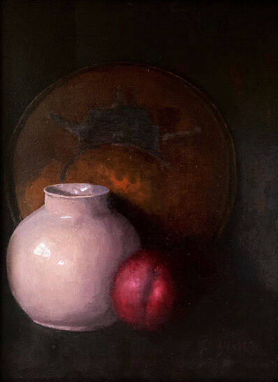 Cynthia Zinser, 'Copper, Plum and Pink Vase', 2020
