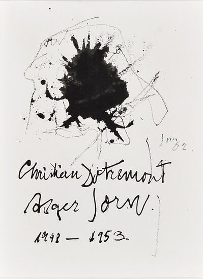 Asger Jorn, 'The things' hair', 1962