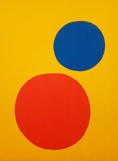Alexander Calder, 'Derriere Le Miroir No. 201 (back cover)', 1973