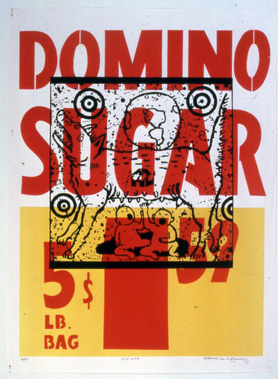 David Wojnarowicz, 'Truth Myth (Domino Sugar)', 1983