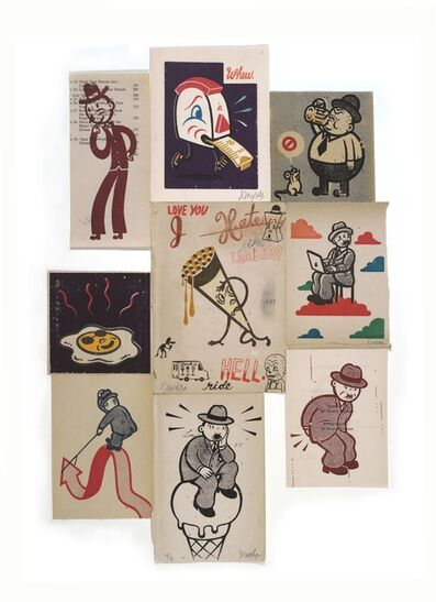 Gary Taxali, 'Serigraph Assemblage #4', 2012