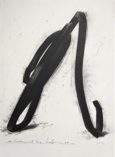 Bernar Venet, 'Undetermined Line', 1987