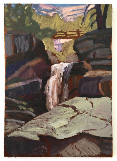 Drea Cofield, 'Silver Skirt above Vernal Falls', 2019