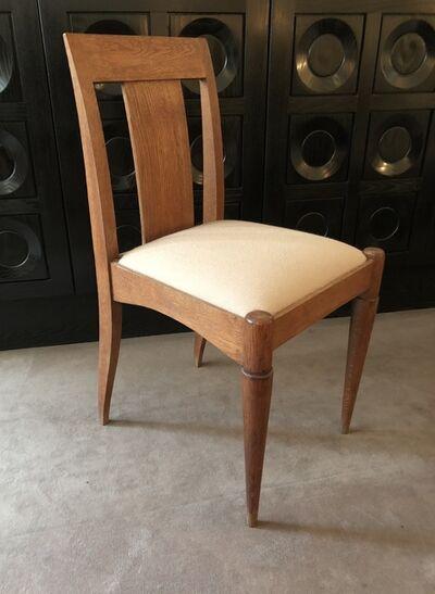"""Jacques-Emile Ruhlmann, 'Set of 6 chairs created for the """"Cité Universitaire"""" of Paris', ca. 1920"""