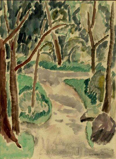 Max Weber, 'Central Park', 1911
