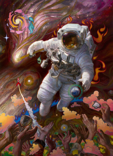 Donato Giancola, 'Life Seeker - The Comet', 2019
