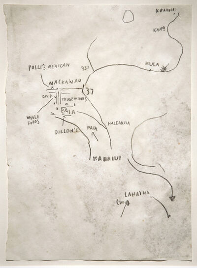 Jean-Michel Basquiat, 'Sans titre (Hawai)', 1982