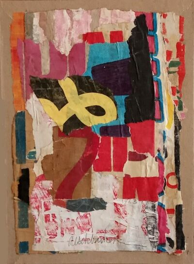 Arthur Aeschbacher, 'Plume d'en bas', 1963