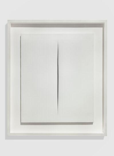Lucio Fontana, 'Concetto Spaziale. Attesa, ', 1966