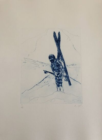 Peter Doig, 'Alpiniste/Wonder of Skiing', 2007