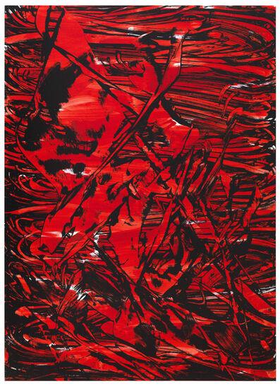 Judy Millar, 'Raft (Red)', 2012