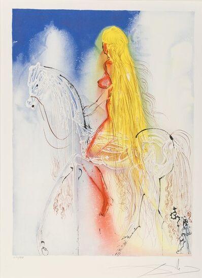 Salvador Dalí, 'Lady Godiva, from Daliean Horses', 1972