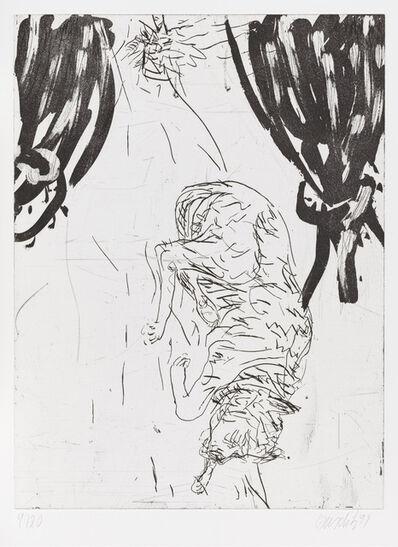 "Georg Baselitz, 'Victor, from ""Schlafende Hunde""', 1998-1999"