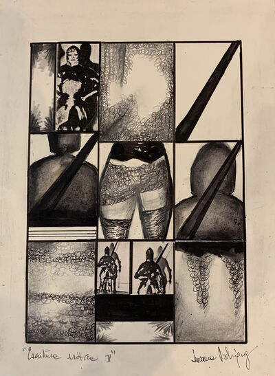 Susana Rodríguez, 'Escritura erótica V', 1984